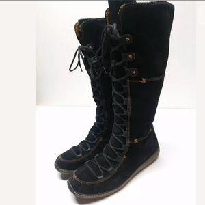 EUC Timberland Moorland Hollace Black Boot 7.5M